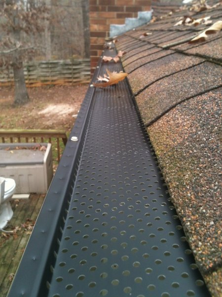 Leaf Guard Allpro Seamless Guttering